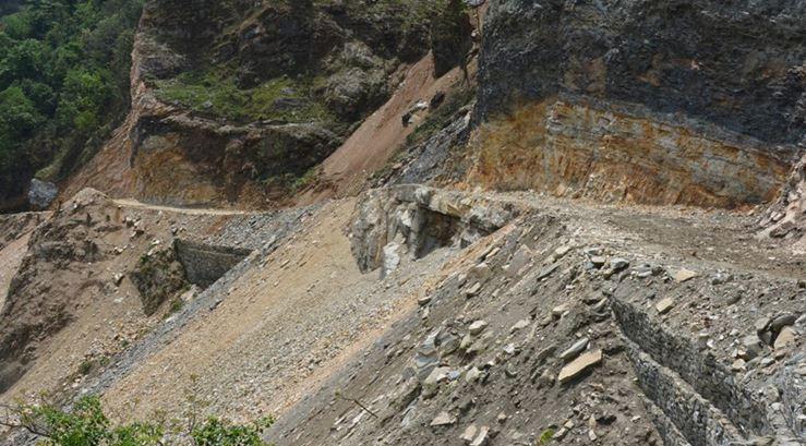 अलपत्र कालीगण्डकी करिडोरको फलेबास–अर्मादी खण्डको ट्र्याक ओपन शुरु